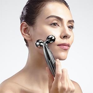 ReFa, Facial Roller, Deluxe face, neck & décolletage roller