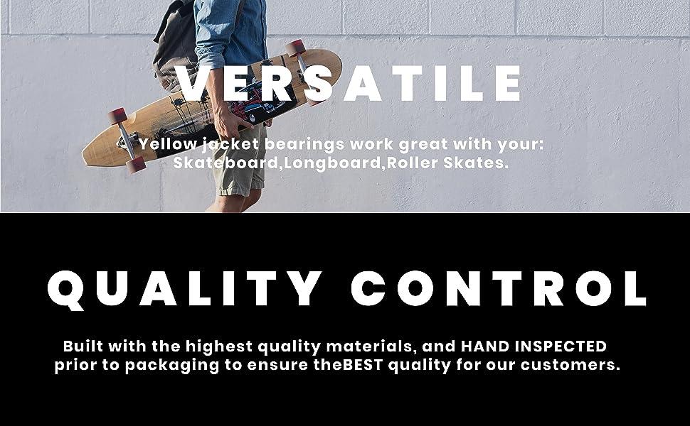 Versatile Quality Control
