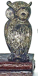 Wide Eyed Owl Bookends Decorative Bookends Vintage take your bookshelves desks spaces drab to fab