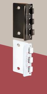 flip action door lock security ease of mind home