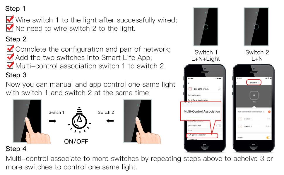 single fire smart switch