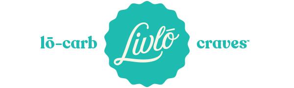 Livlo low carb snacks logo
