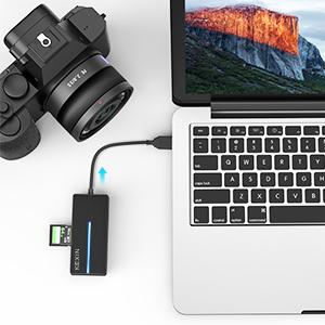 Concentrador USB C SD