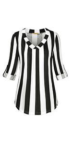 baikea 3/4 sleeve blouse