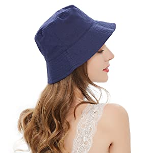 travel beach fisherman's caps floppy hats for women fishing hat bucket hat aesthetic packable