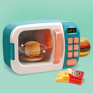 pretend play microwave set