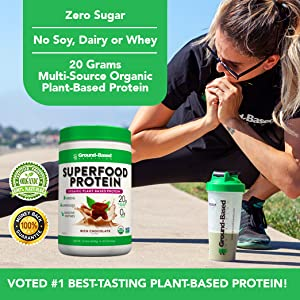 protein, vegan protein, plant-based protein, superfood protein