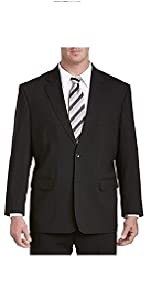 Gold Series by DXL Big and Tall Jacket-Relaxer and Suit Jacket