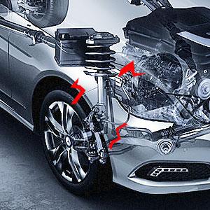 MILLION PARTS 14 Pcs Front Lower Upper Control Arm Ball Joints Outer Inner Tie Rod Sway Bar End Link Suspension Kit K620257 K620258 K80823 K80823 K80822