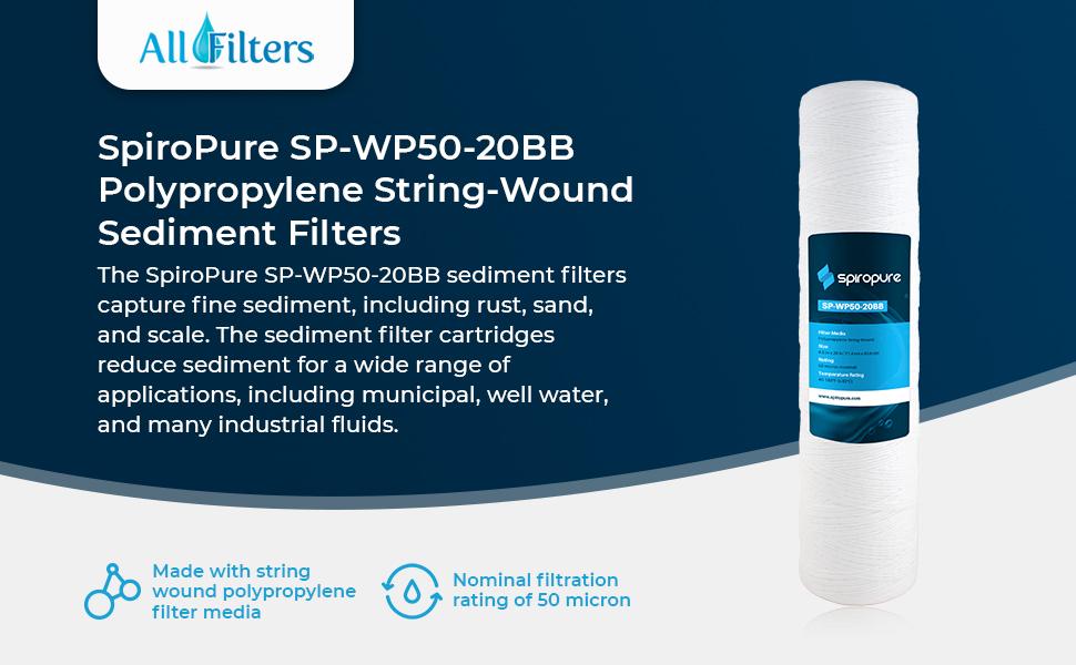 Sediment Water Filters