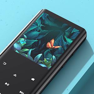 AGPTEK 32Go Haut-Parleur MP3 Bluetooth 5.0 avec Boutons Tactiles