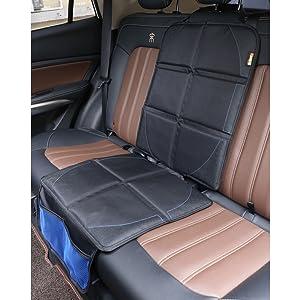 Protector universal para asientos de automóvil Mejor protección para vehículos pesados para Niños (Uno)