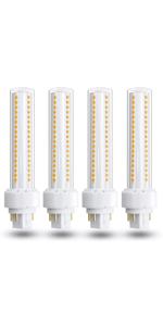 Gx24 4-Pin Base LED Bulb