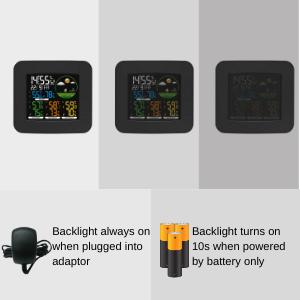 3 Levels Brightness Adjustable