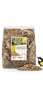 Rêve d'oiseau - 5kg de graines pour oiseaux de qualité supérieure - Sans Blé