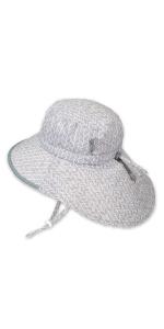 grey boys grils sun hat