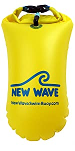 New Wave Swim Buoy 15L PVC