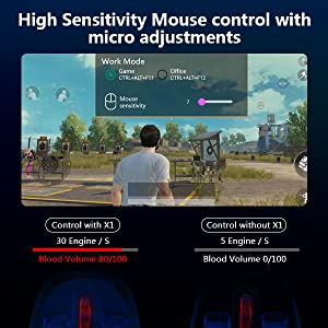high sensitivty mouse control micro adjustments