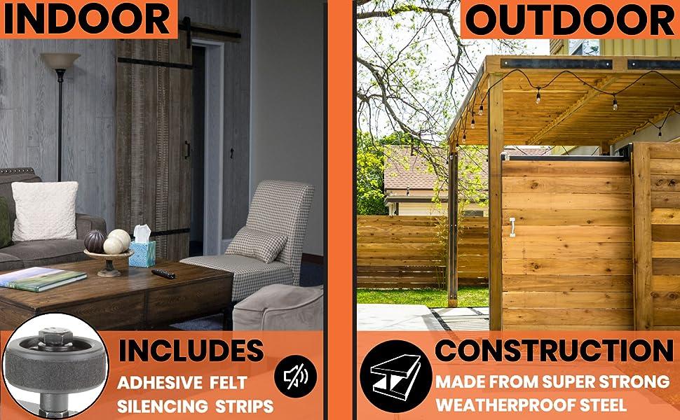 indoor outdoor use interior exterior super strong steel construction ultra silent quiet operation