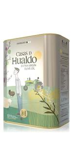 olive oil, tin