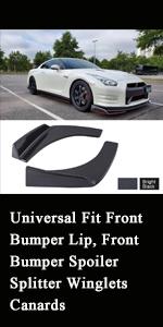Front Bumper Spoiler
