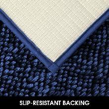 non slip bath rug mat set