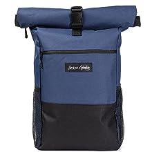 Rolltop Rucksack Blau Laptop Rucksack 17 Zoll Faltbarer Rolltop Antidiebstahl