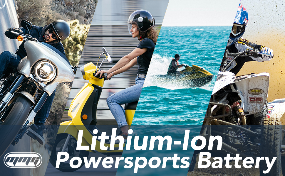 Lithium-Ion Powersports