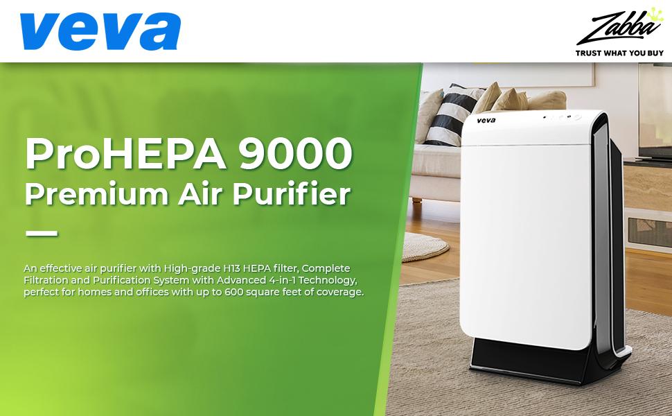 VEVA ProHEPA 9000 Intro Cover Premium Air Purifier