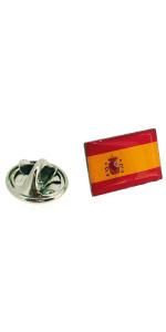 Gemelolandia | Pin de Solapa Bandera España Version III