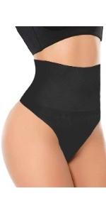 Details about  /UK Tummy Control Thong Underwear High Waist Trimmer Trainer Slimming Body Shaper