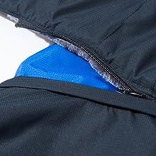 ski jacket men detachable hood