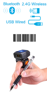 bluetooth ring barcode scanner