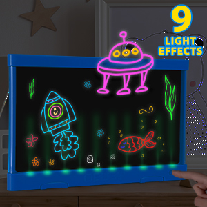 light up writing board for kids