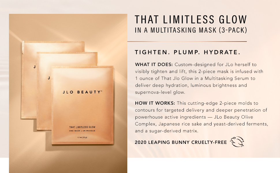 3 gel mask limitless glow