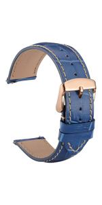 watch band strap belt leather bracelet replacement 14 18 19 20 21 22 black brown buckle men women
