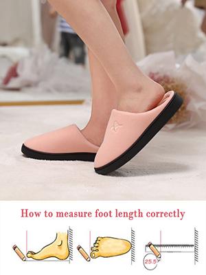 Measure foot length