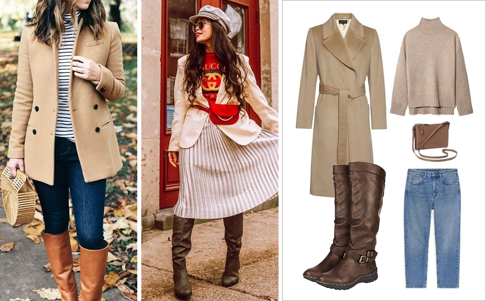 fashion knee high boots for women
