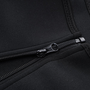 Men Waist Trainer Vest Hot Neoprene Sauna Suit Corset Body Shaper Zipper Tank Top Workout Shirt