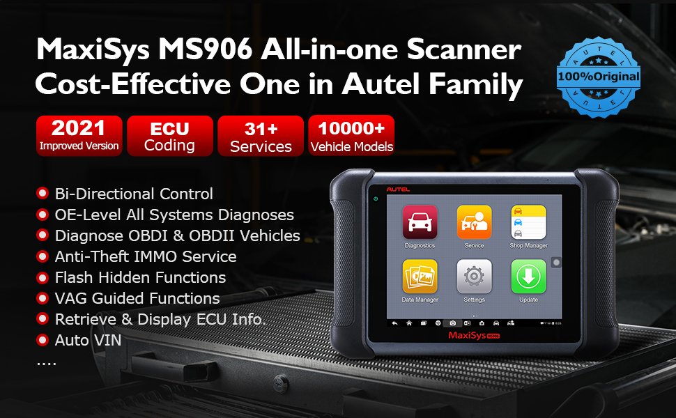 autel scanner Maxisys MS906