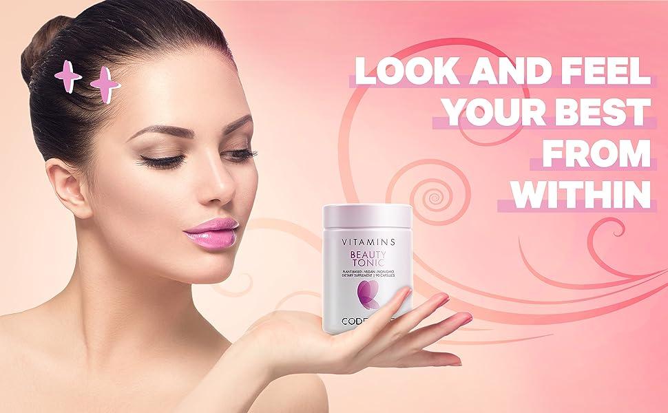 Codeage Beauty Tonic Beauty Boost Formula