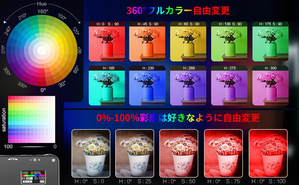 VIJIM RGB ビデオライト