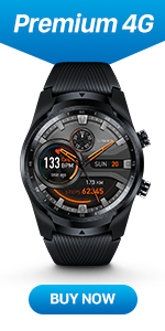 Amazon.com: Ticwatch Pro, Premium Smartwatch with Layered ...