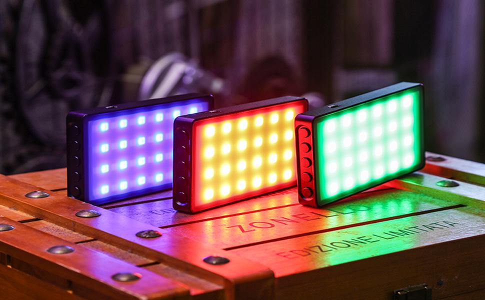 LEDビデオライト RB08P コンパクト