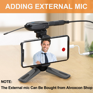Portable Desktop Holder with Cold Shoe Mount for iPhone/Android