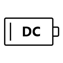 DC motor, reversible ceiling fan