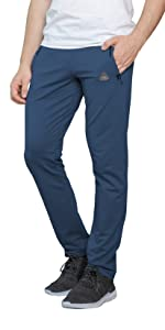 SCR SPORTSWEAR Mens Sweatpants with Pockets Tapered Joggers for Men Slim Fit Open Bottom Pants tall