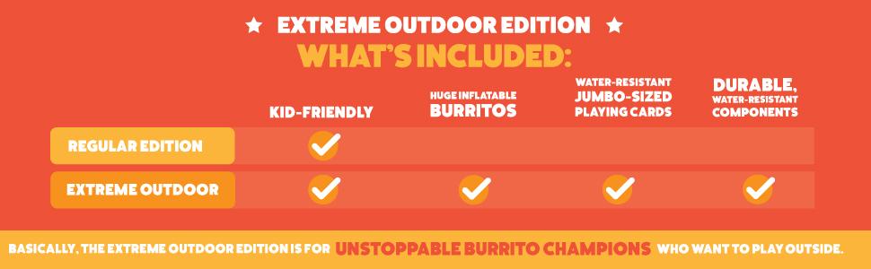 throw throw burrito outdoor ediion