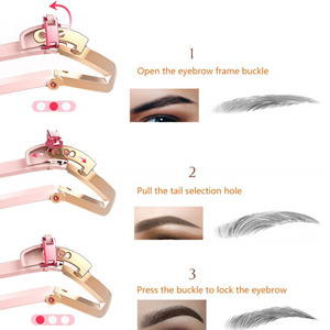Eyebrow Stencils Professional Make Up Eyebrow Template