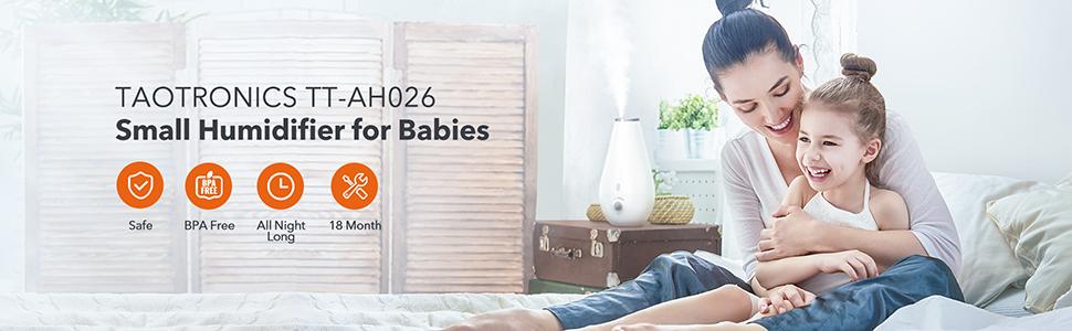 Humidifiers for Babies Nursery Bedroom